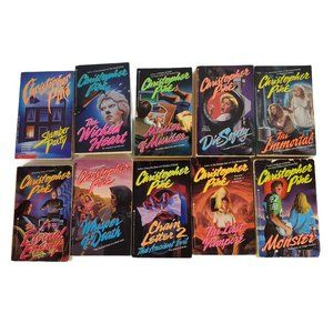 Lot of 10 Christopher Pike Young Adult Teen Horror Paperback Thriller